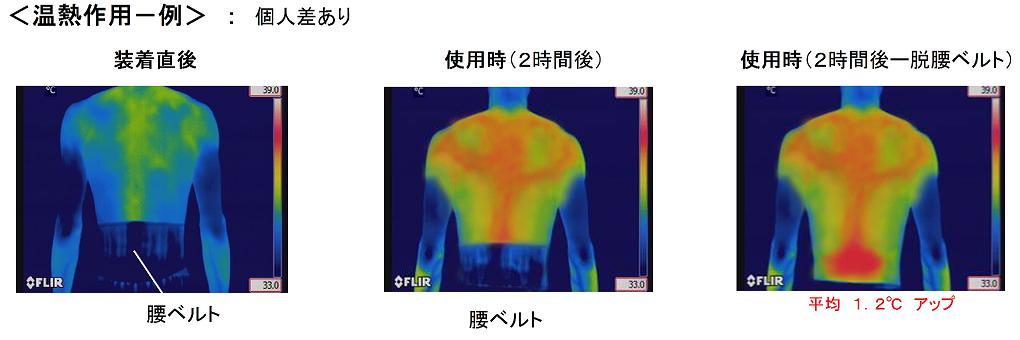 温熱作用一例